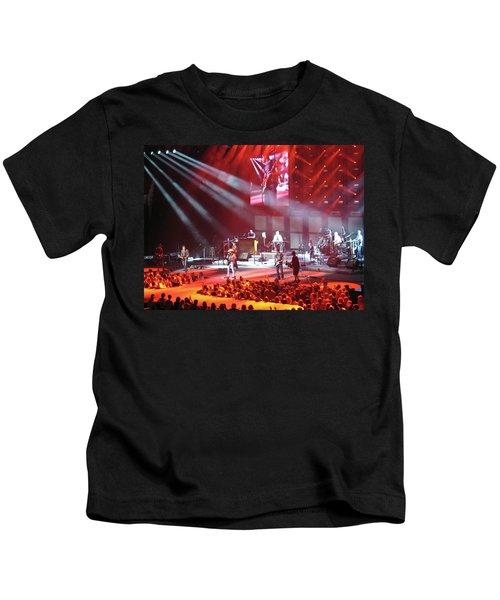 Kenny Chesney In Arizona Kids T-Shirt