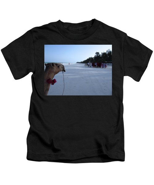 Kenya Wedding On Beach Distance Kids T-Shirt