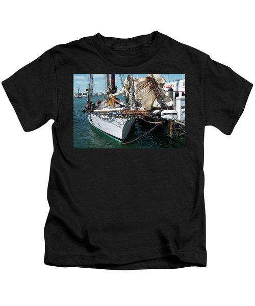Key West Appledore Sailboat Kids T-Shirt