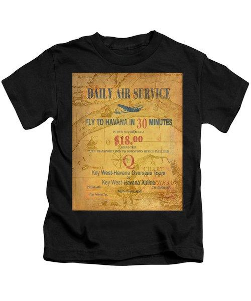 Key West To Havana Kids T-Shirt