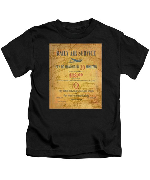 Key West To Havana Kids T-Shirt