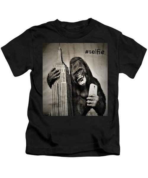 King Kong Selfie Kids T-Shirt