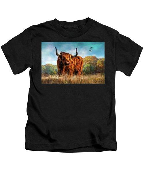 King Of The Herd Kids T-Shirt
