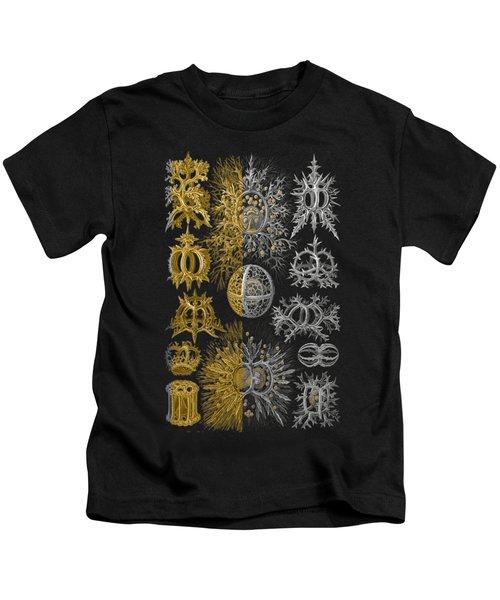 Kingdom Of Silver Single-celled Organisms  Kids T-Shirt