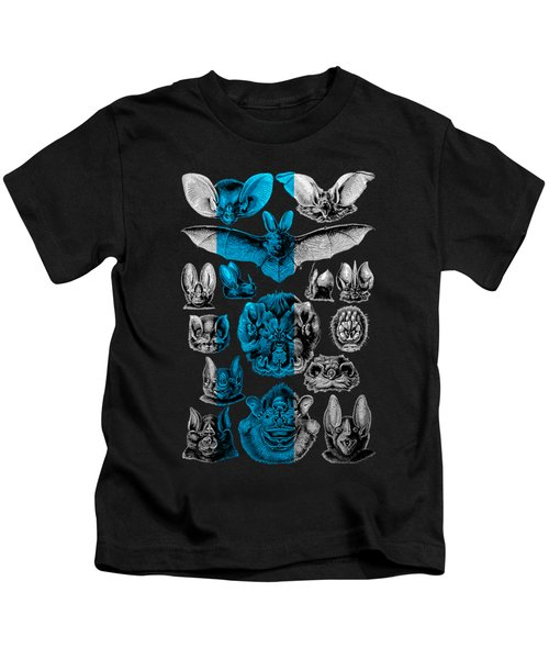 Kingdom Of The Silver Bats Kids T-Shirt by Serge Averbukh