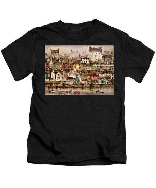 F 906  Kinsale Harbour. Cork Kids T-Shirt