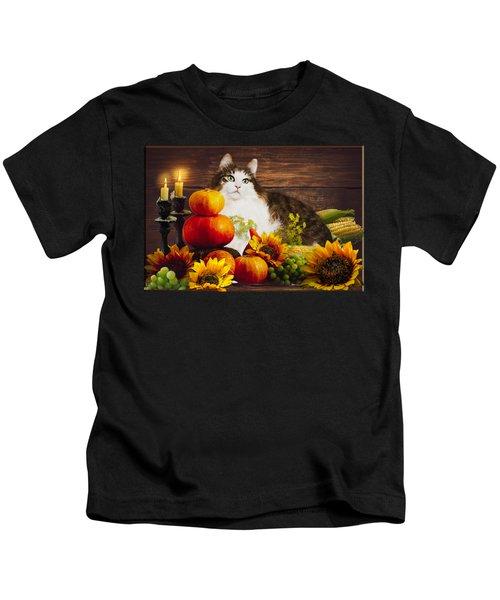 Kitty's Harvest Kids T-Shirt