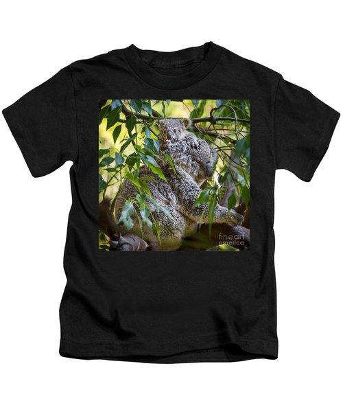 Koala Joey Kids T-Shirt by Jamie Pham
