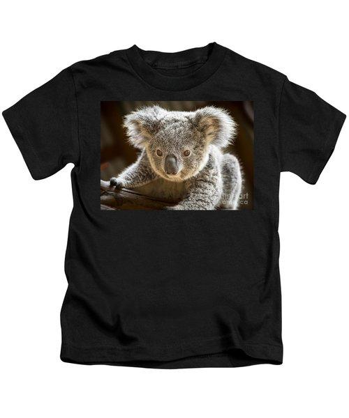 Koala Kid Kids T-Shirt by Jamie Pham