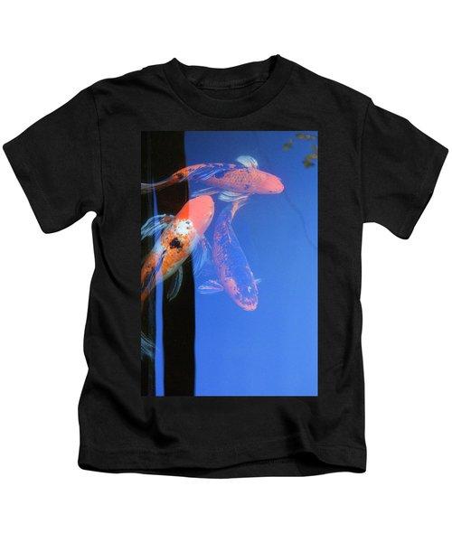 Koi Vi  Blue Kids T-Shirt