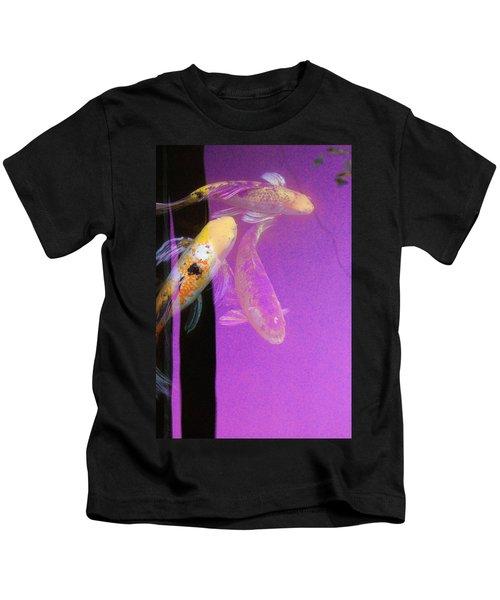 Koi Vi Magenta Kids T-Shirt