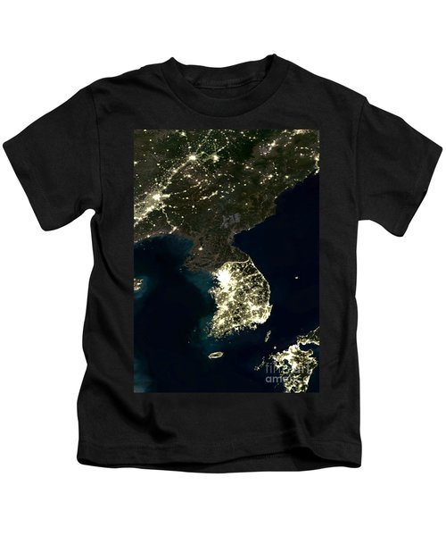 Korean Peninsula Kids T-Shirt