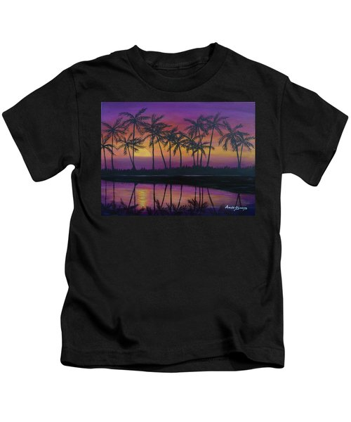 Kristine's Sunset Kids T-Shirt