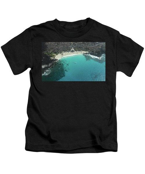 Kua Bay Aerial Kids T-Shirt
