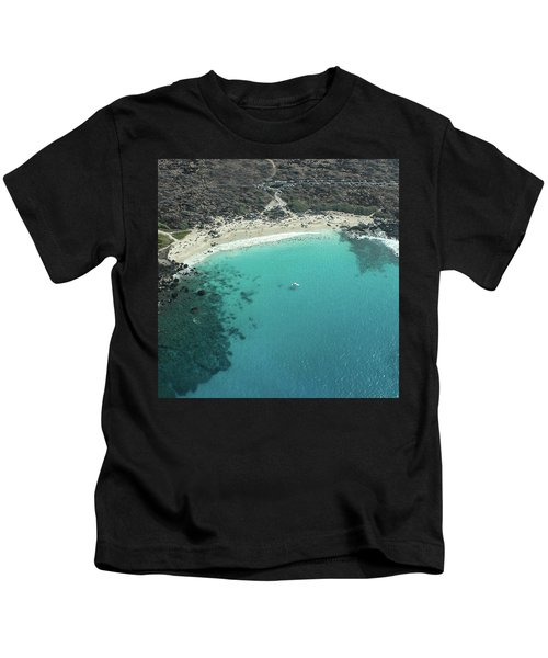 Kua Bay Aerial Kids T-Shirt
