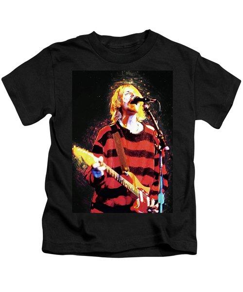 Kurt Cobain Kids T-Shirt