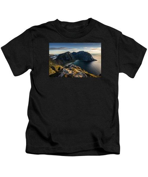 Kvalvika Beach Kids T-Shirt