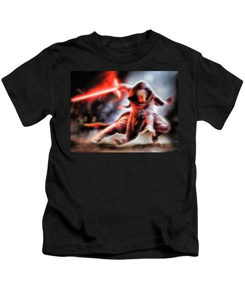 Kylo Ren I Will Fulfill Our Destiny Kids T-Shirt