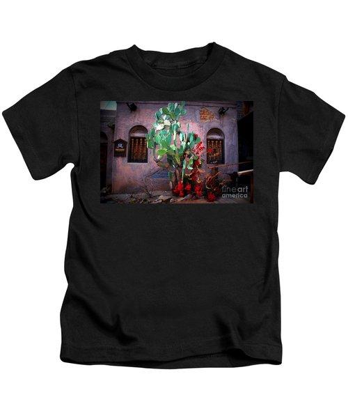 La Hacienda In Old Tuscon Az Kids T-Shirt