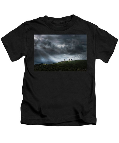 La Mancha Spain Kids T-Shirt