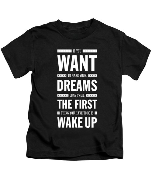 Lab No. 4 If You Want To Make J.m. Power Life Inspirational Quote Kids T-Shirt