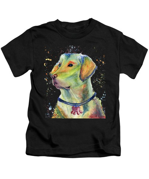 Labrador Retriever Art Kids T-Shirt