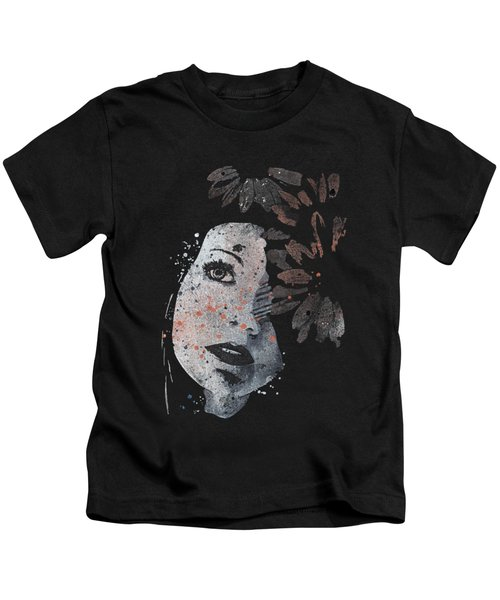 Lack Of Interest - Rust Kids T-Shirt