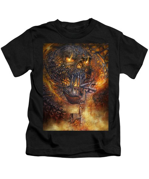 Lady And Skull Kids T-Shirt