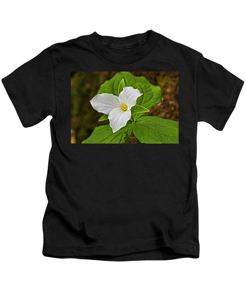 Lady In White Kids T-Shirt