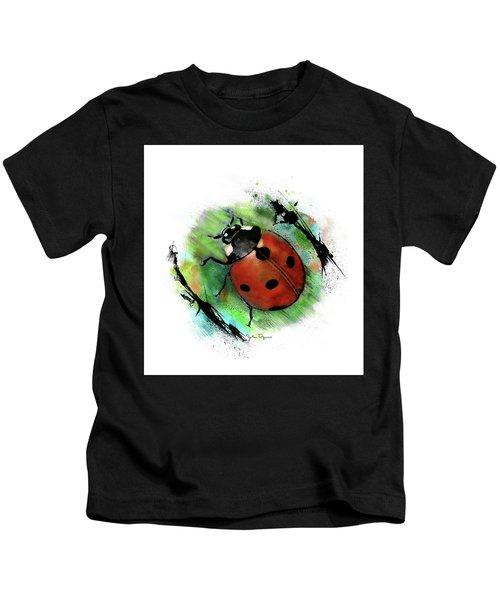 Ladybug Drawing Kids T-Shirt