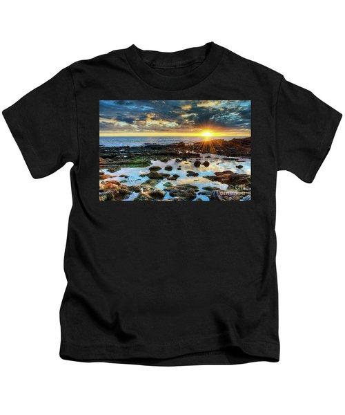 Laguna Beach Tidepools Kids T-Shirt