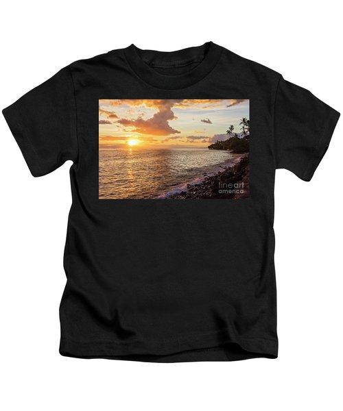 Lahaina Sunset Kids T-Shirt