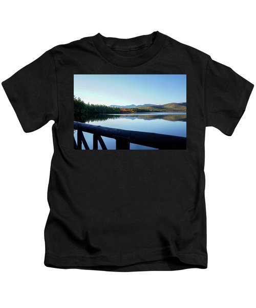 Lake Chocorua Autumn Kids T-Shirt