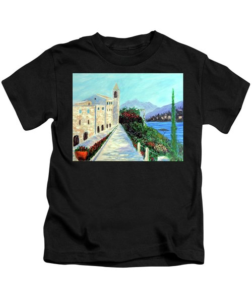 Lake Como Colors  Kids T-Shirt