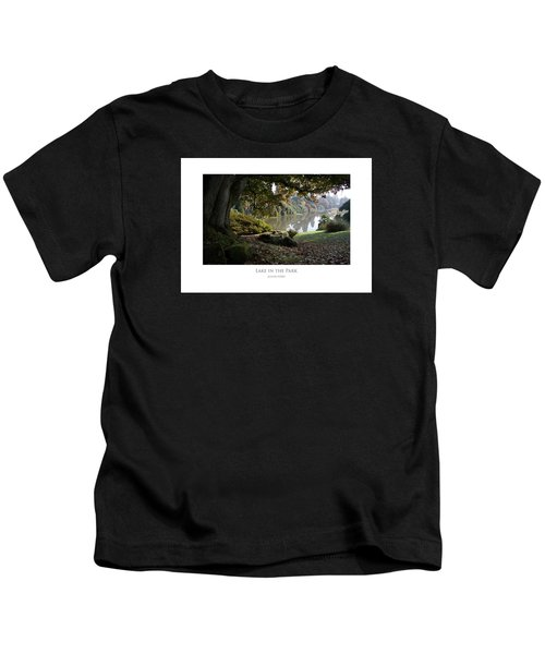 Lake In The Park Kids T-Shirt