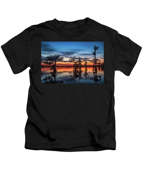 Lake Martin Sunset Kids T-Shirt