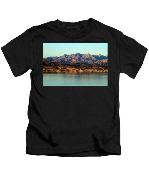 Lake Mead Before Sunset Kids T-Shirt