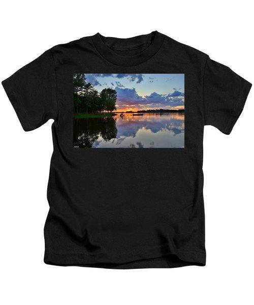 Lake Murray Sc Reflections Kids T-Shirt