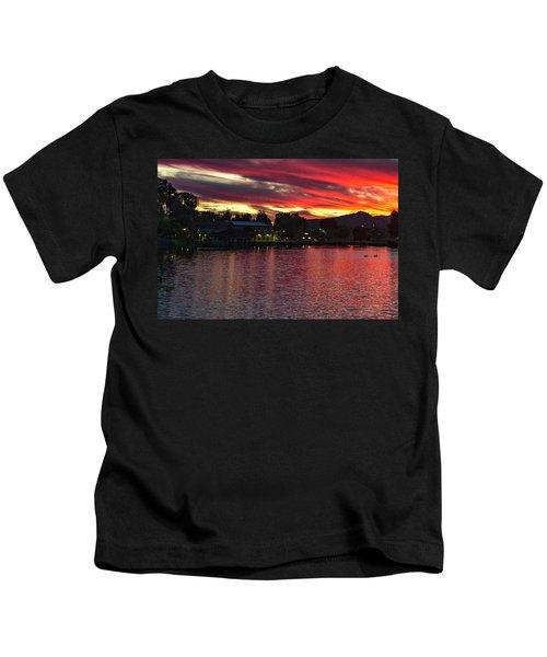 Lake Of Fire Kids T-Shirt
