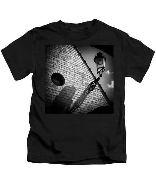 Lamp With Shadow Kids T-Shirt