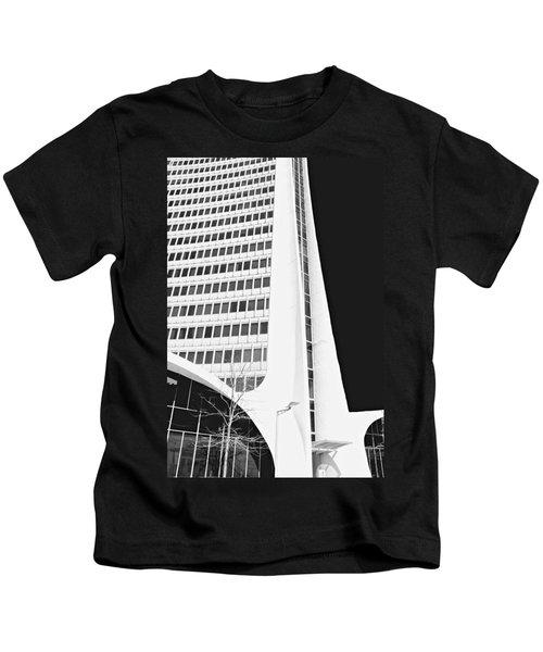 Landmark Square Facade Kids T-Shirt