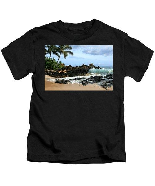 Lapiz Lazuli Stone Aloha Paako Aviaka Kids T-Shirt