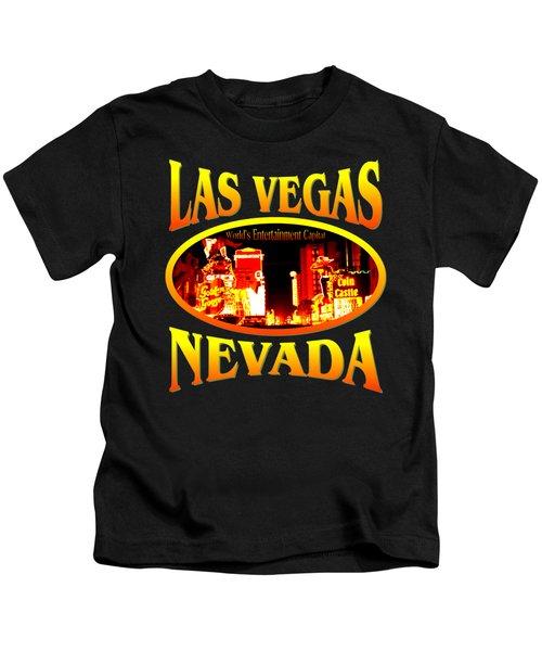 Las Vegas Nevada Design Kids T-Shirt