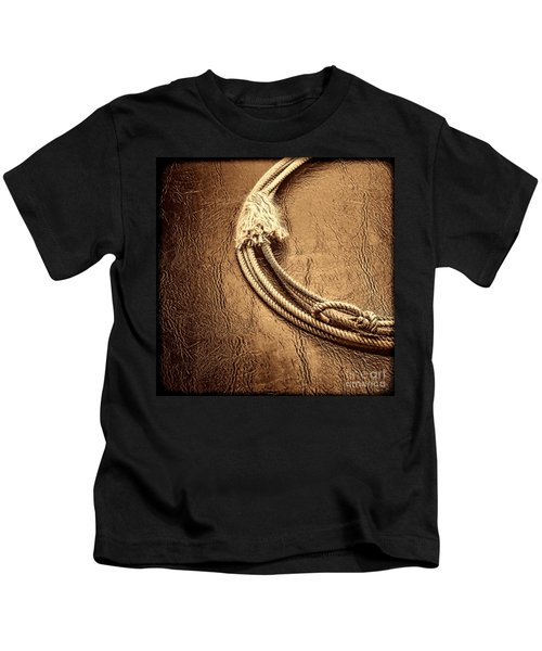Lasso On Leather Kids T-Shirt