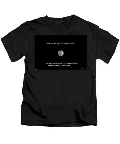 Lasso The Moon Kids T-Shirt