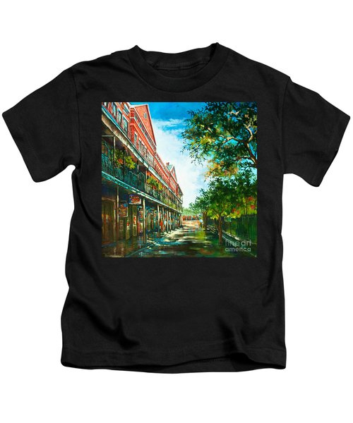Late Afternoon On The Square Kids T-Shirt