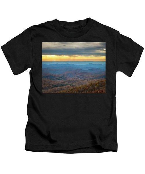 Late Autumn Vista Kids T-Shirt