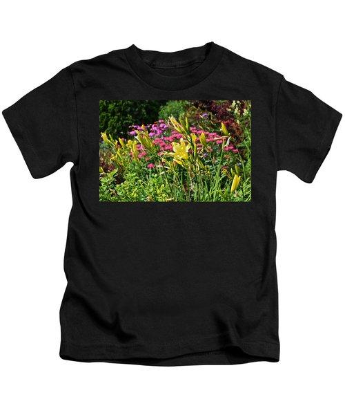Late July Garden 1 Kids T-Shirt