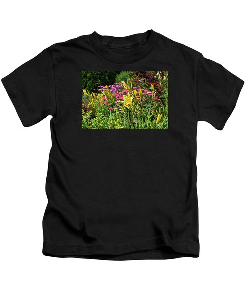 Late July Garden 1 Kids T-Shirt