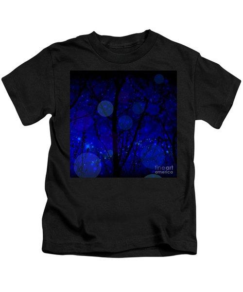 Late Night Fairy Flight Kids T-Shirt